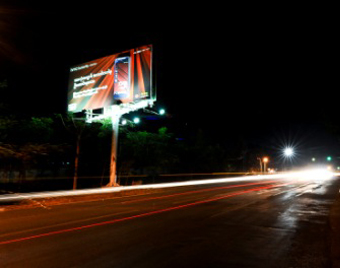 Myanmar billboard